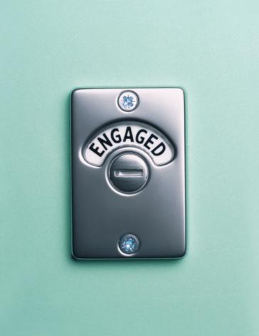 Inconvenience「'Engaged' lock, close up」:スマホ壁紙(14)