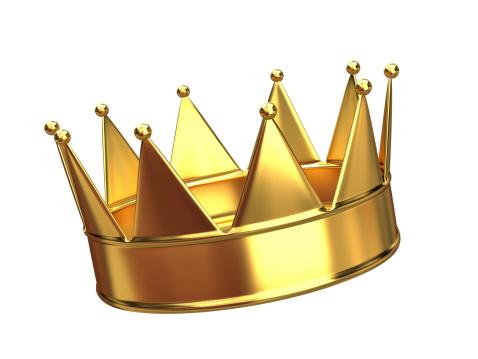 Crown - Headwear「A golden crown with ten points 」:スマホ壁紙(3)