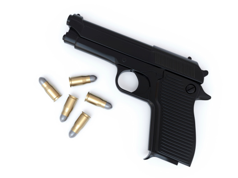 Handle「Gun and Bullets」:スマホ壁紙(1)