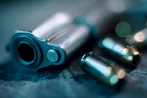 Weapon「Gun and Bullets」:スマホ壁紙(6)