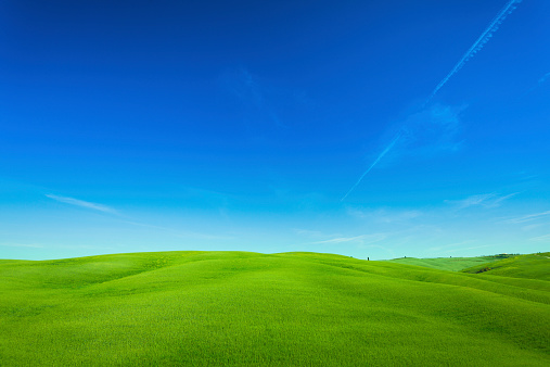 Val d'Orcia「Rolling Hills Landscape in Tuscany, Val d'Orcia, Italy」:スマホ壁紙(8)