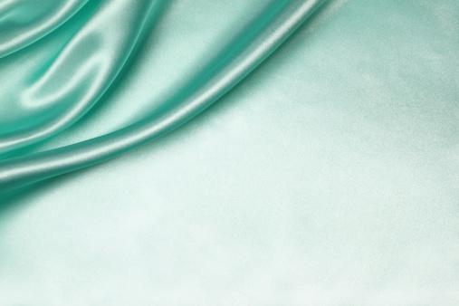 Satin「Teal Silk Background」:スマホ壁紙(15)