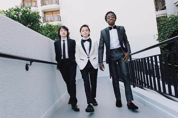 Noah Schnapp「Finn Wolfhard, Caleb McLaughlin and Noah Schnapp Prepare For The 74th Annual Golden Globe Awards」:写真・画像(10)[壁紙.com]
