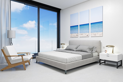 Standing Water「Hotel Room Suite with Sea View」:スマホ壁紙(9)
