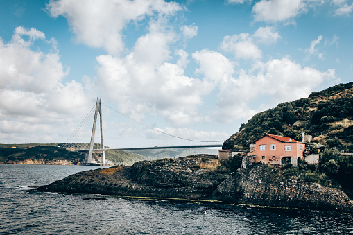 Wire Rope「Yavuz Sultan Selim bridge in Istanbul.」:スマホ壁紙(19)