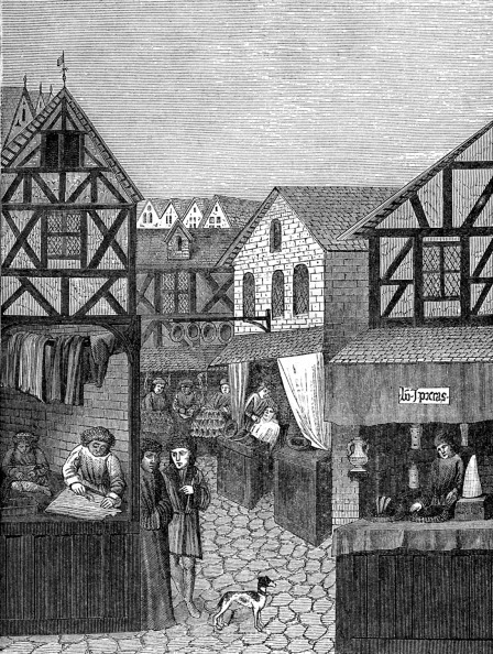 Medieval「Shops in an Apothecary's Street」:写真・画像(11)[壁紙.com]