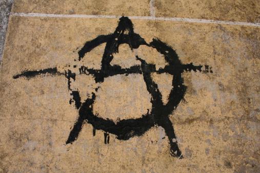 Teenager「Grungy anarchic symbol」:スマホ壁紙(2)