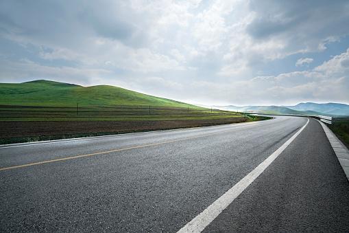 Long「Highway in Inner Mongolia province, China」:スマホ壁紙(12)