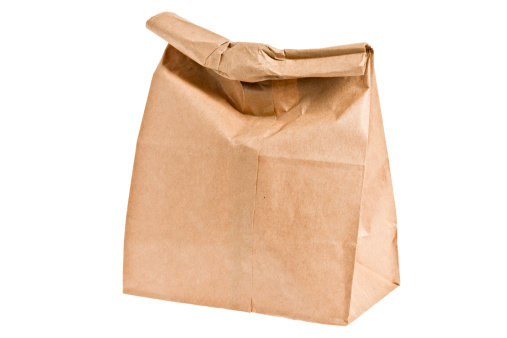 Box - Container「Brown Paper Lunch Bag」:スマホ壁紙(19)