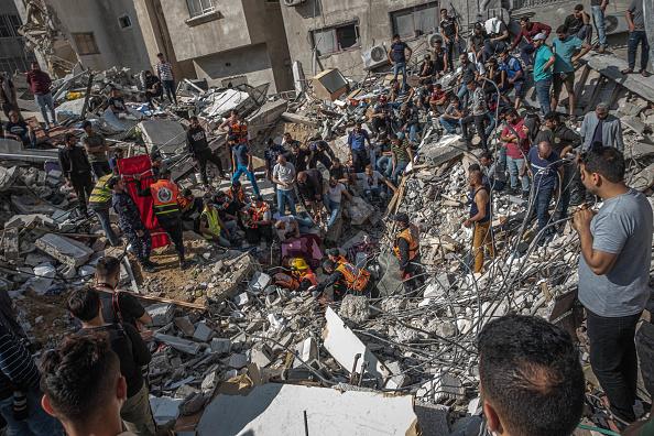 パレスチナ「Israel Continues Gaza Attacks Amid Rumors Of Ground Offensive」:写真・画像(19)[壁紙.com]