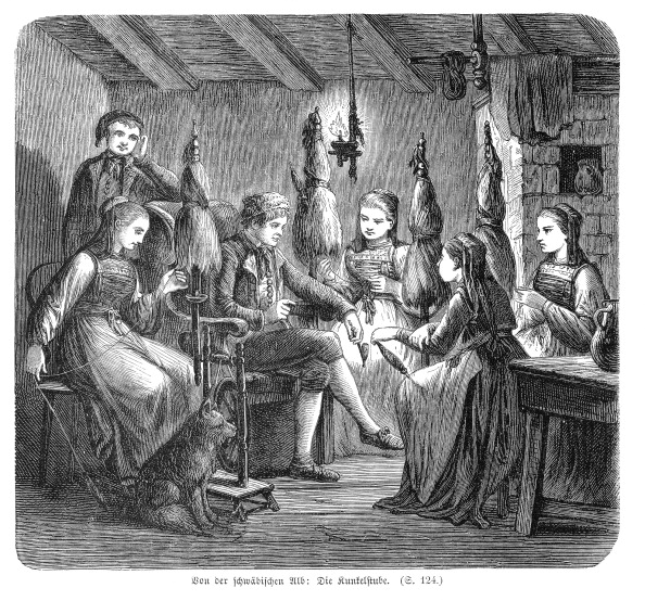 Spinning「Professions - The Spinning Room. 1865.」:写真・画像(16)[壁紙.com]