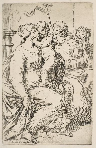 Virgin Mary「Holy Family With St John The Baptist」:写真・画像(16)[壁紙.com]