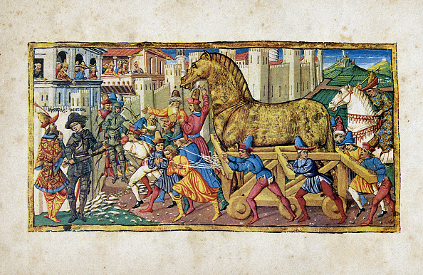Horse「The Trojan Horse」:写真・画像(15)[壁紙.com]