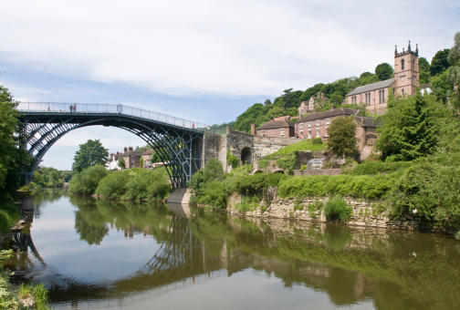 Mill「Ironbridge in Telford」:スマホ壁紙(2)