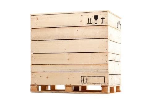 Box - Container「wooden cargo box」:スマホ壁紙(3)