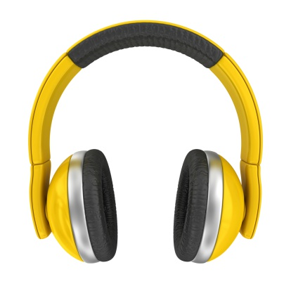 Audio Equipment「yellow headphones」:スマホ壁紙(16)