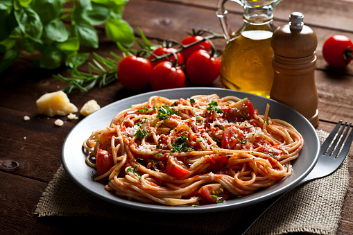 Spaghetti「Pasta plate」:スマホ壁紙(4)