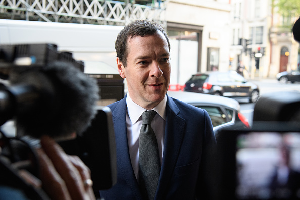 Evening Standard「The Former Chancellor George Osborne Arrives At The Evening Standard Newspaper For His First Day As Editor」:写真・画像(1)[壁紙.com]