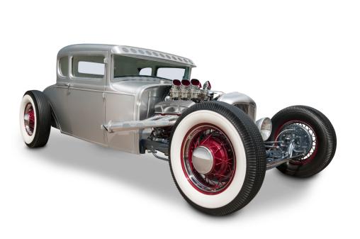 Hot Rod Car「Classic 1930's Ford Automobile」:スマホ壁紙(14)