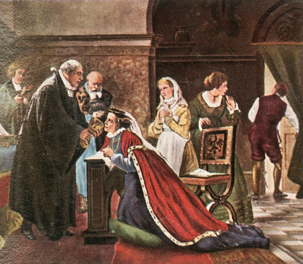 Religious Mass「Electress Elisabeth Takes Communion After The Protestant Service」:写真・画像(14)[壁紙.com]