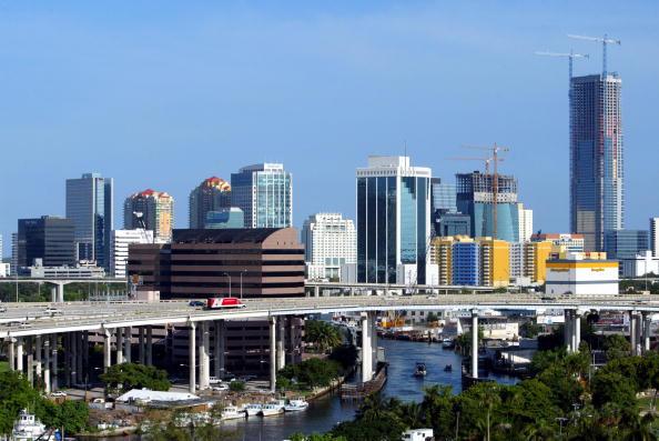 Miami「The Changing Miami Skyline」:写真・画像(5)[壁紙.com]