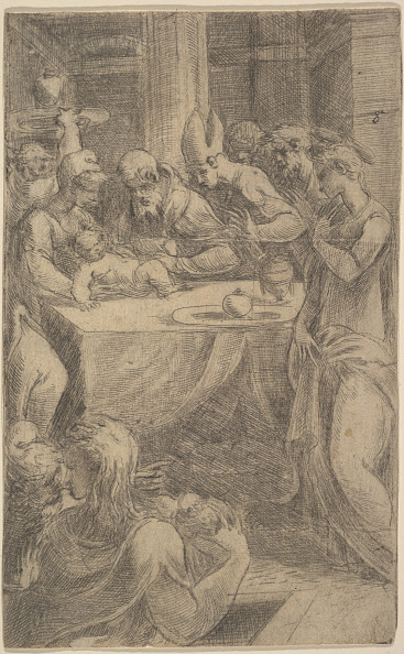 Etching「The Circumcision Of Christ」:写真・画像(6)[壁紙.com]