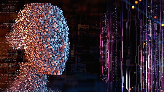 Big Data「Artificial Intelligence concept」:スマホ壁紙(13)