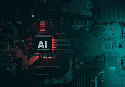 Data Center「Artificial Intelligence Chipset」:スマホ壁紙(8)