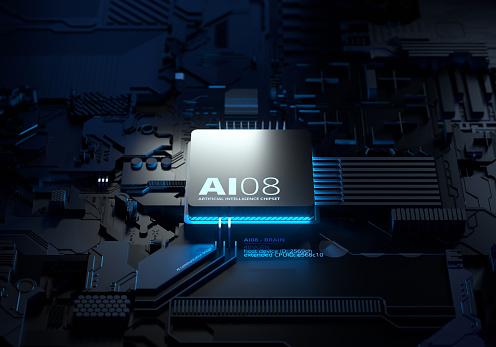 Deep Learning「Artificial Intelligence Chipset」:スマホ壁紙(4)