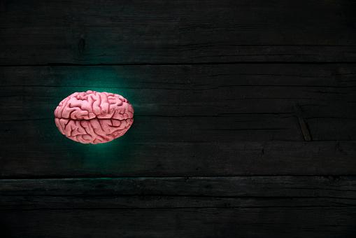 Deep Learning「Artificial intelligence, brain gleaming」:スマホ壁紙(5)
