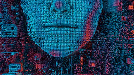 Computer Chip「Artificial intelligence」:スマホ壁紙(7)