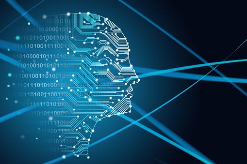 Binary Code「Artificial Intelligence」:スマホ壁紙(8)