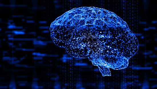 Binary Code「Artificial Intelligence digital concept」:スマホ壁紙(17)