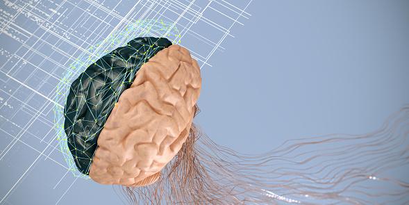 Neuroscience「Artificial Intelligence digital concept」:スマホ壁紙(8)