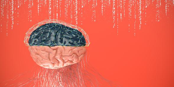 Neuroscience「Artificial Intelligence digital concept」:スマホ壁紙(7)