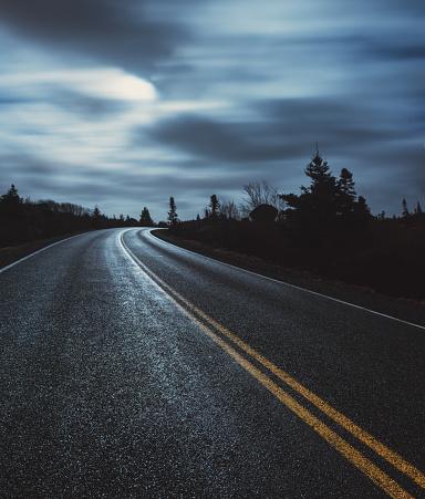 Moonlight「Moonlit Coastal Road」:スマホ壁紙(15)