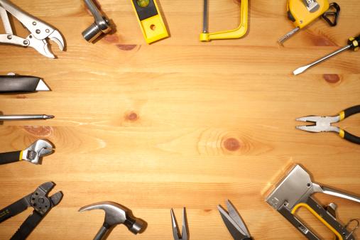 Carpentry「Work Tools」:スマホ壁紙(14)