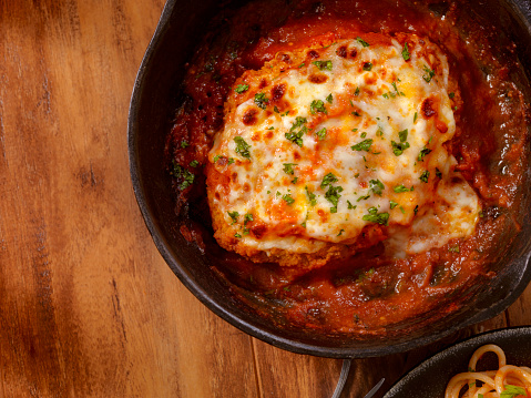 Mozzarella「Chicken Parmesan with Spaghetti」:スマホ壁紙(4)