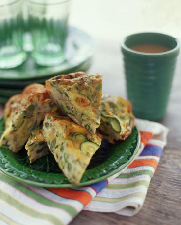 Zucchini「Vegetable frittata」:スマホ壁紙(2)