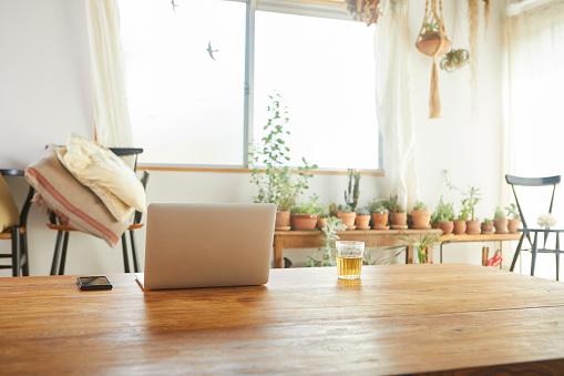 Laptop「Living in the daytime.」:スマホ壁紙(4)