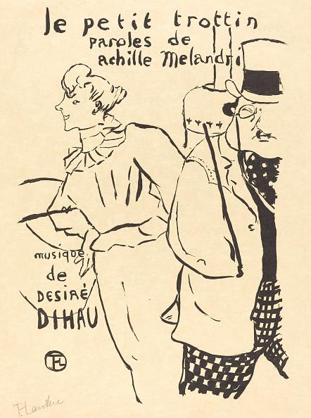 Art Nouveau「The Little Errand-Girl (Le Petit Trottin)」:写真・画像(14)[壁紙.com]