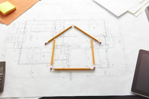 Development「A house constructed by pencils.」:スマホ壁紙(9)