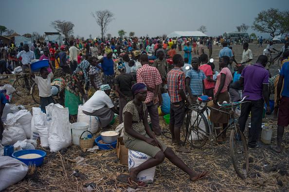 Number 100「South Sudanese Refugees Continue To Cross Into Uganda」:写真・画像(13)[壁紙.com]