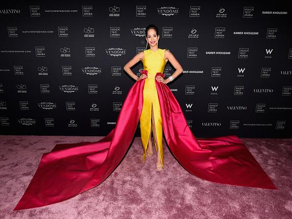 Yellow「Doha Fashion Trust Arabia Red Carpet and Gala Dinner」:写真・画像(5)[壁紙.com]