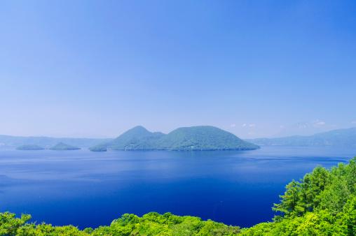 Hokkaido「Lake Toya, Hokkaido Prefecture, Japan」:スマホ壁紙(4)