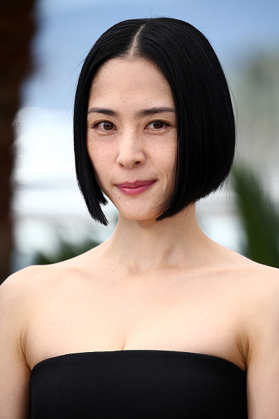 """Middle Hair Part「""""Kishibe No Tabi"""" (Journey To The Shore) Photocall - The 68th Annual Cannes Film Festival」:写真・画像(0)[壁紙.com]"""