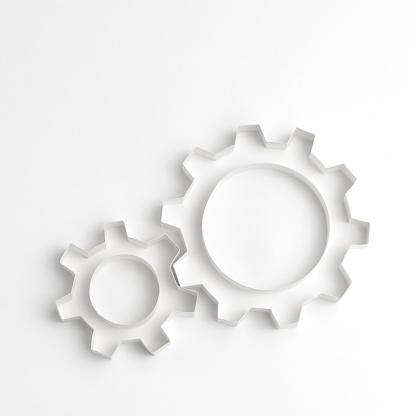 Two Objects「Origami gear wheels」:スマホ壁紙(0)