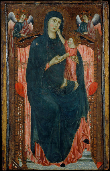 Virgin Mary「Madonna And Child Enthroned With Angels. Creator: Master Of Varlungo.」:写真・画像(11)[壁紙.com]