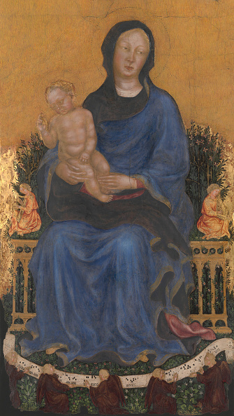 Architectural Feature「Madonna And Child With Angels. Creator: Gentile Da Fabriano.」:写真・画像(15)[壁紙.com]