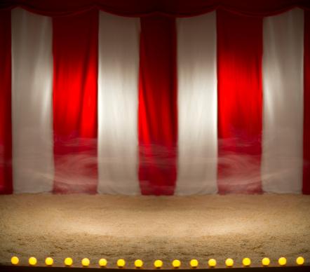 Circus Tent「empty circus」:スマホ壁紙(1)